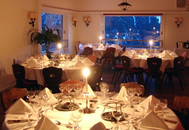 Separater Tannensaal im Panorama Restaurant