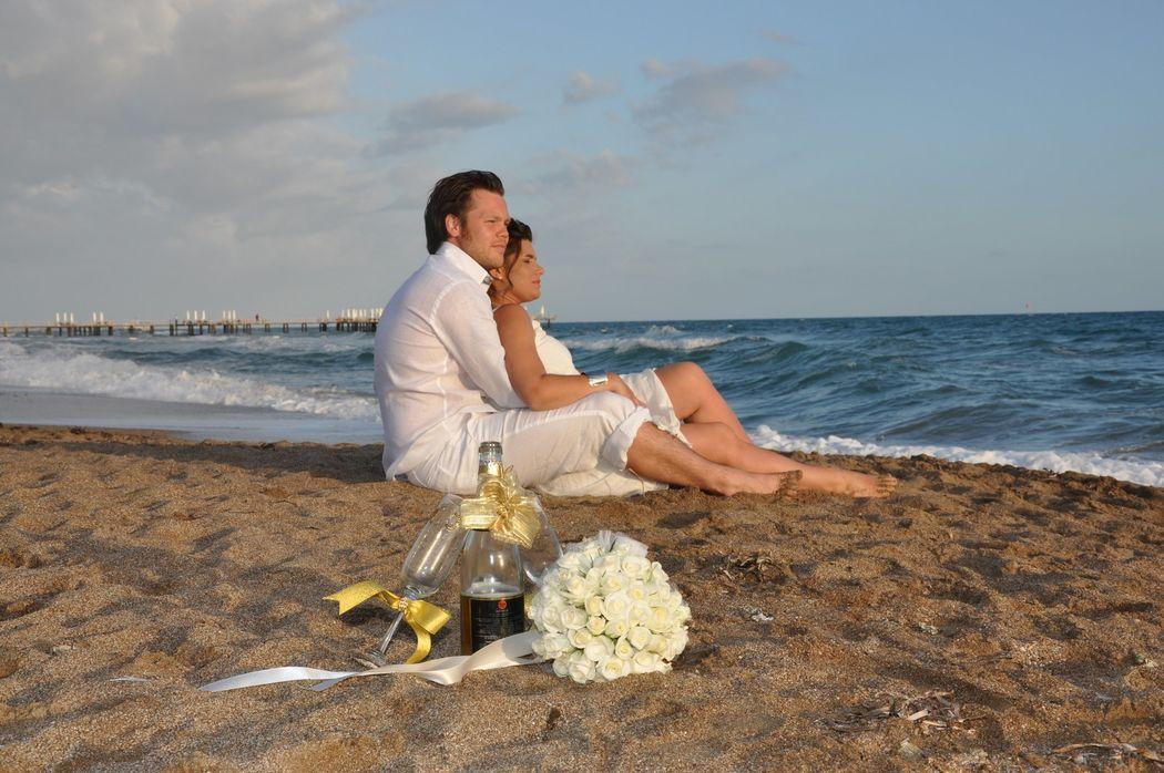 Свадьбы на пляже