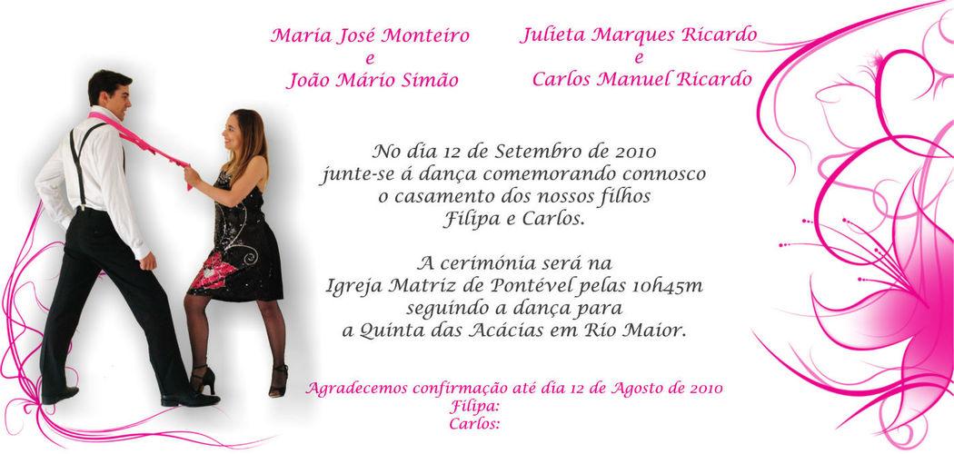Convite Dança