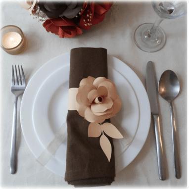 Servilletero Rose