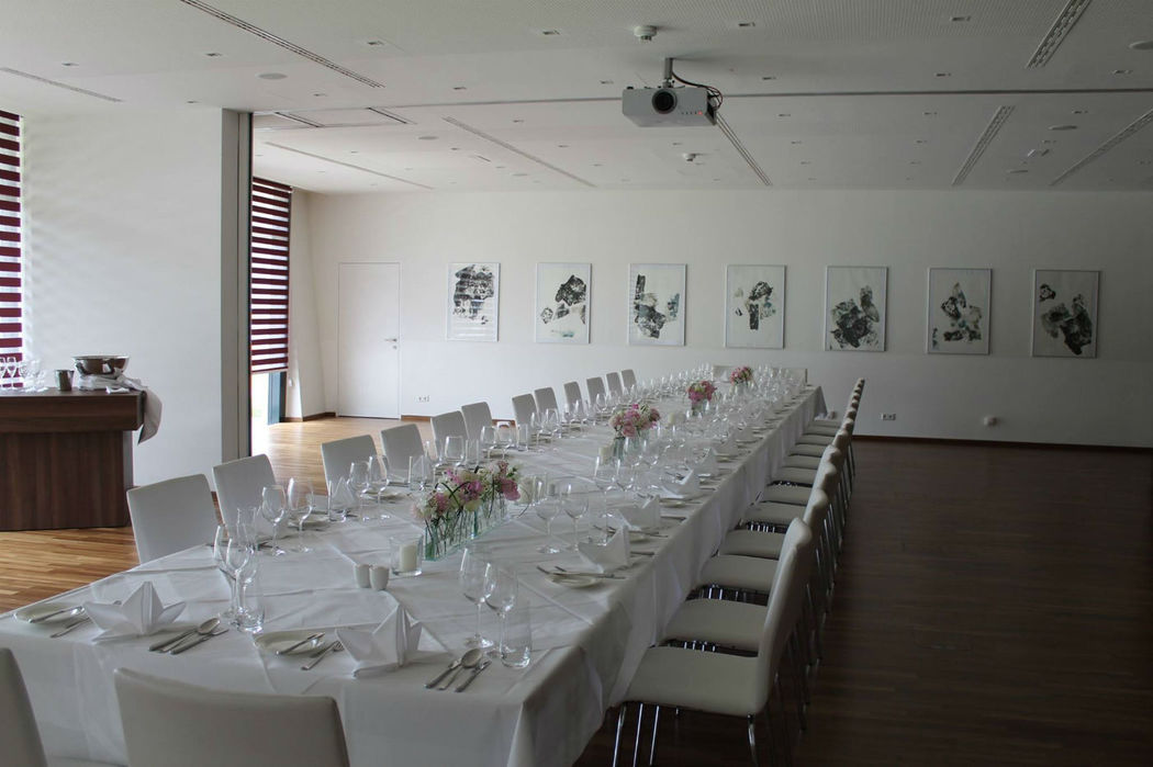 Beispiel: Hochzeits-Bankett, Foto: Warmbaderhof.