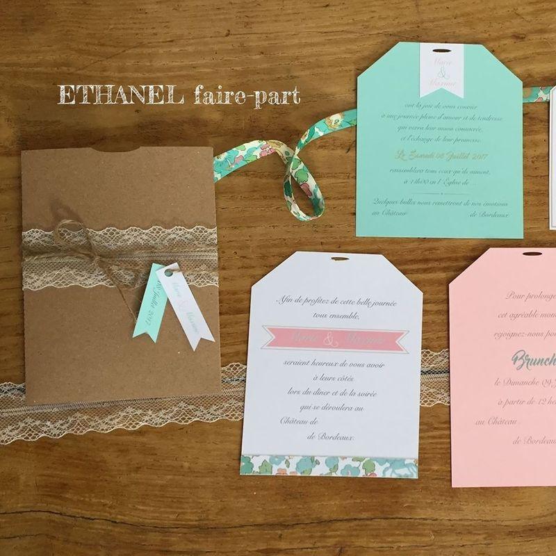 Ethanel Faire-Part