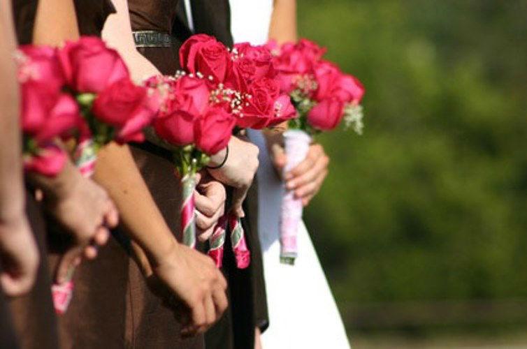 Beispiel: Handsträuße, Foto: AFLORA – Blumenfachgeschäft.