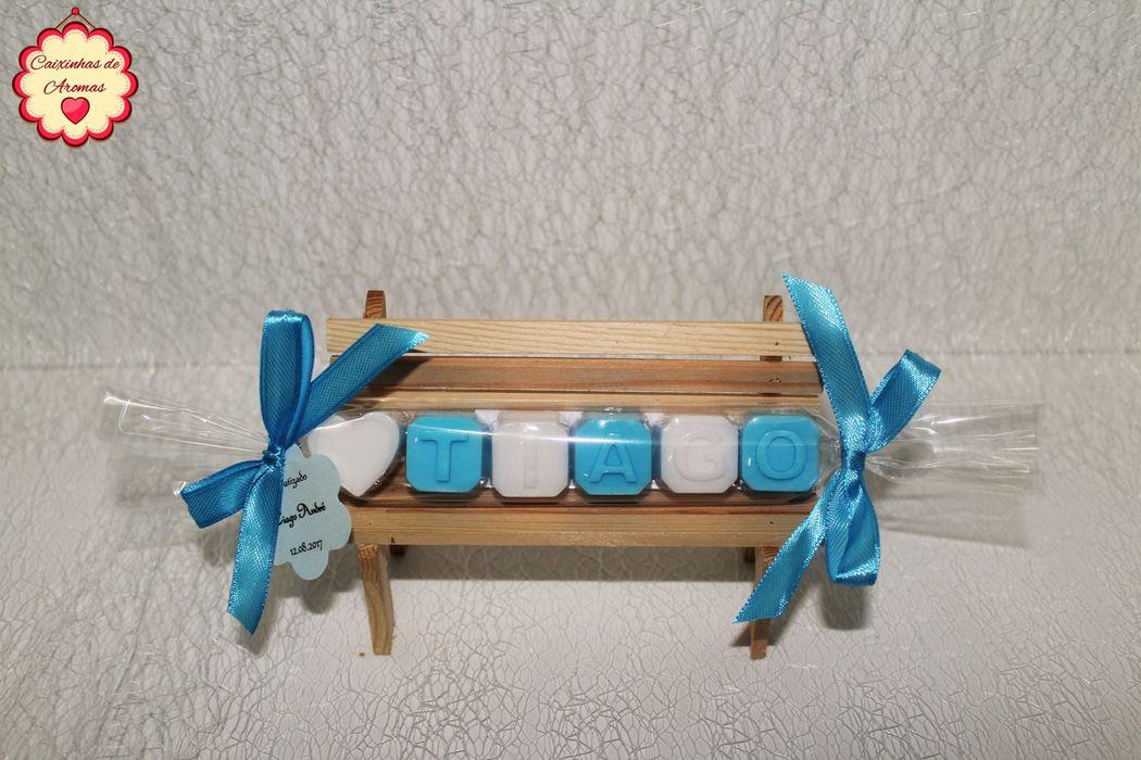 Caixinhas de Aromas - Lembranças de Casamentos e Batizados