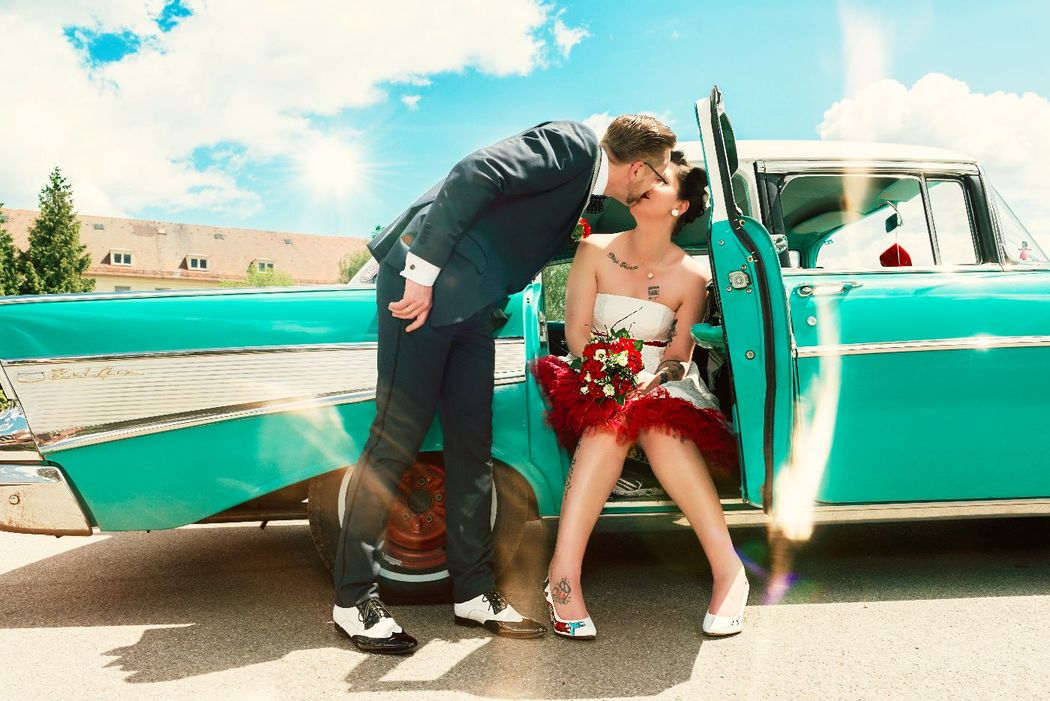 Sie lieben Rock´n´Roll und Petticoats? Dann ist Rockabilly gewünscht?!