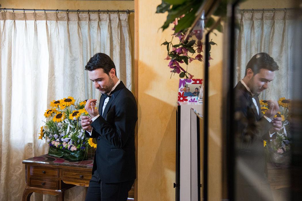 Lo sposo e il suo look