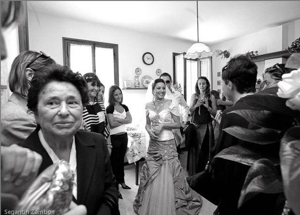 Reportage in bianco e nero Matrimonio a Venezia