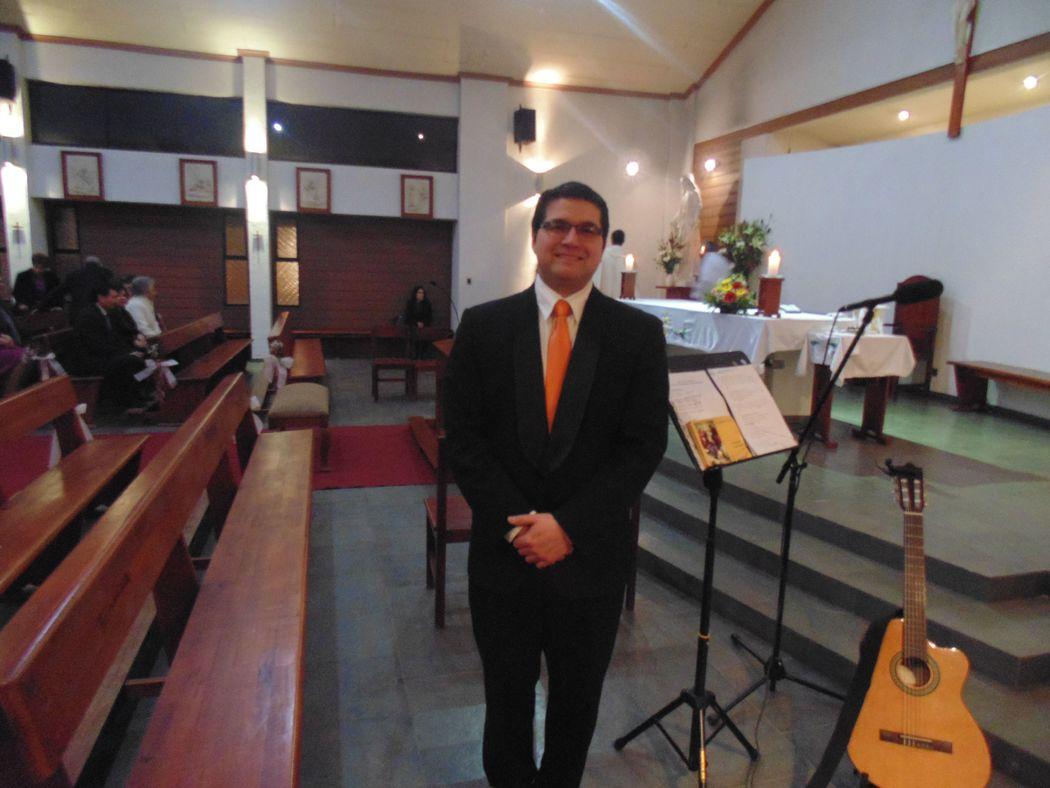 Boda en Capilla Jesús Maestro, Talca. Agosto de 2016.