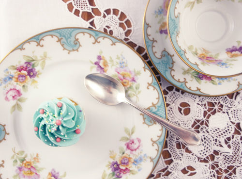 Beispiel: Baby-Cupcake, Foto: Zuckermonarchie.