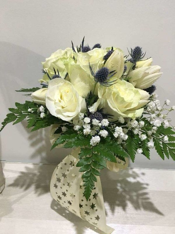 Orquídea Azul - Arte Floral