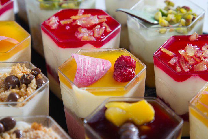 Cocktails sucrés - Mini-verrines Pâtisserie La Romainville
