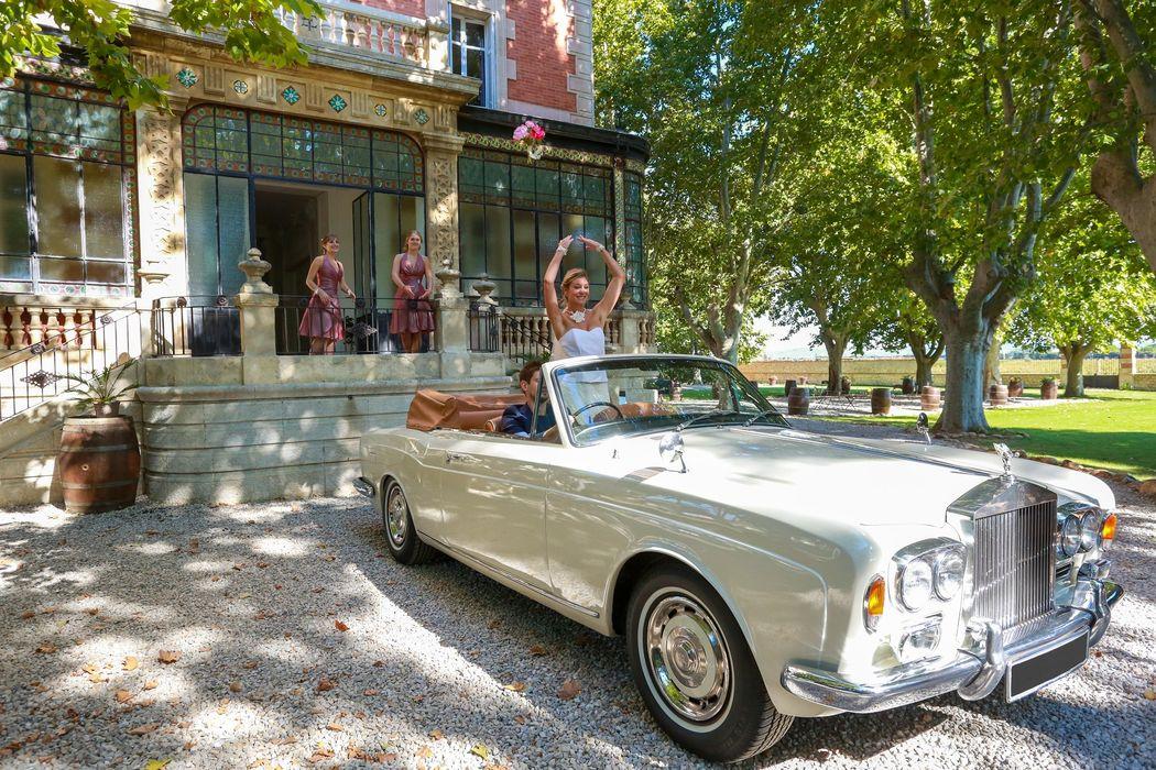 Rolls Royce voiture mariage paca