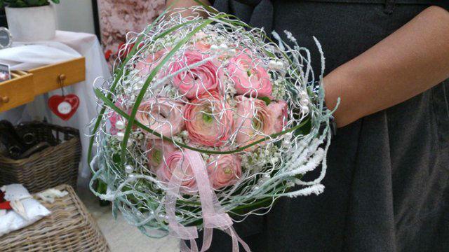 Beispiel: Wunderschöne Brautsträuße, Foto: MauerBlümchen.