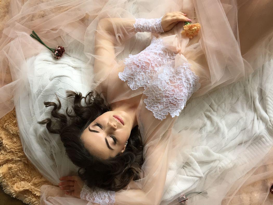 Boudoir dress: Amore di Seta