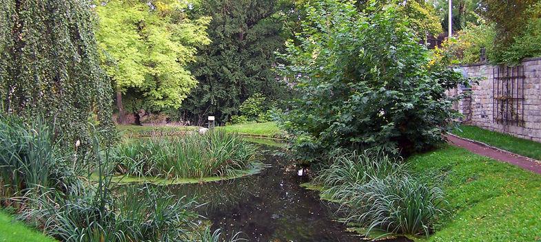 Beispiel: Schlosspark, Foto: Schloss Burgk.