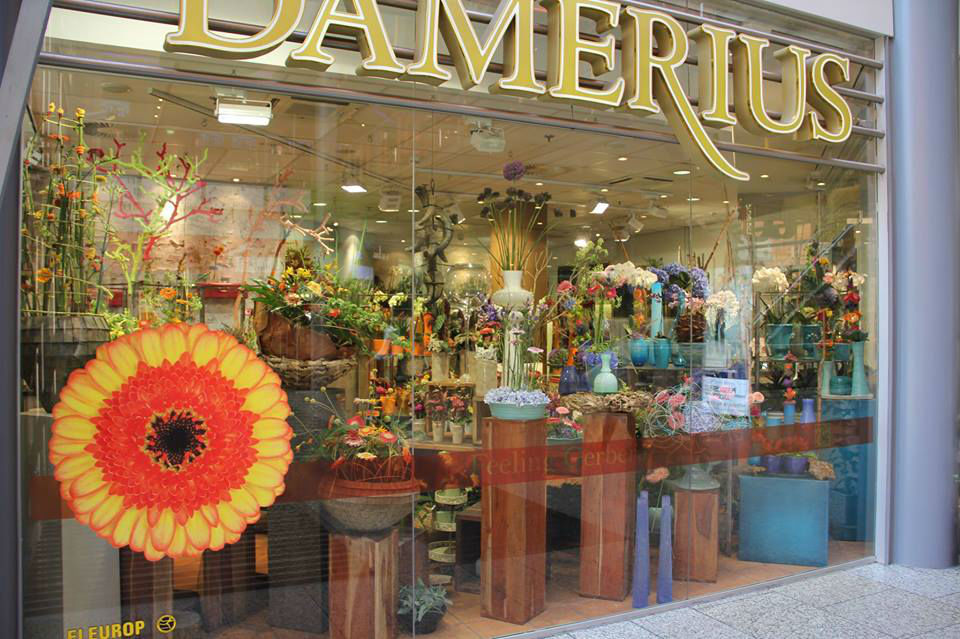 Beispiel: Das Geschäft, Foto: Blumen Damerius.