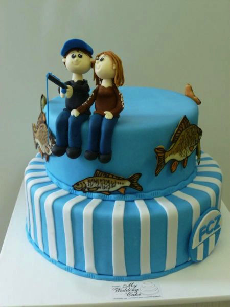 Lustige Tortenaufsätze, Foto: Brugger's My Wedding Cake.