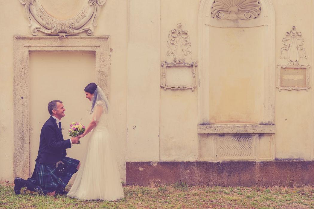 Scottish Wedding in Rome