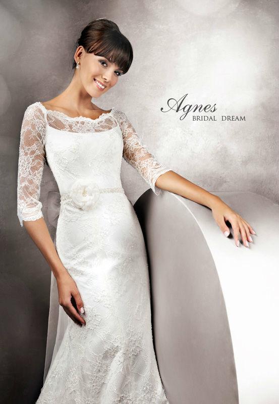 Beispiel: Brautkleid der Marke Agnes Bridal Dream, Foto: Dolce Vita.