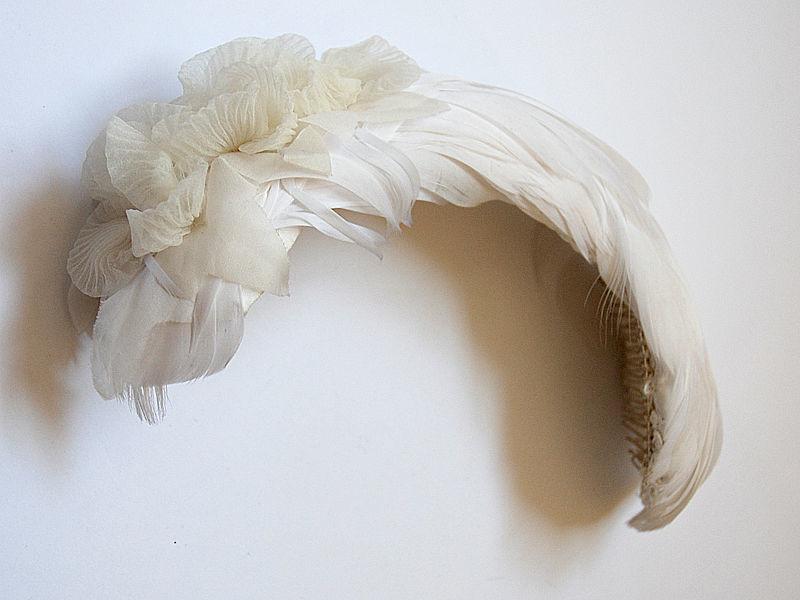 Tocado de plumas