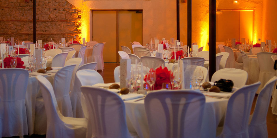 La salle lors d'un mariage