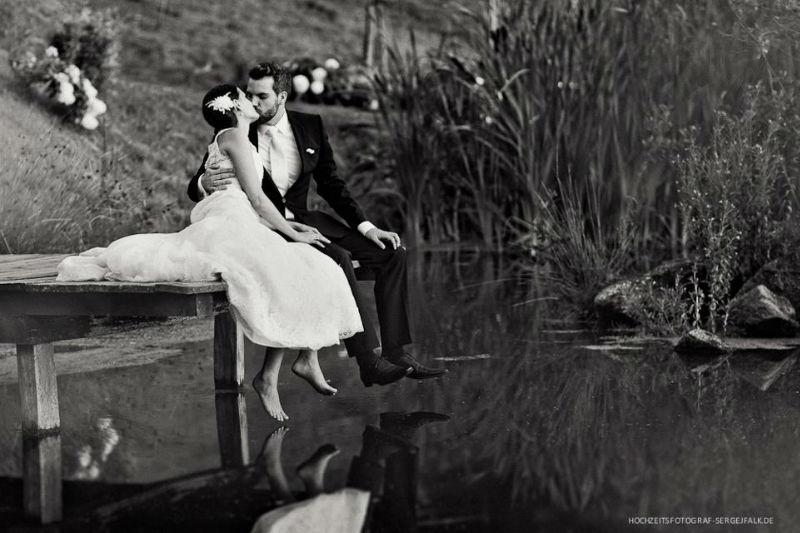 Beispiel: Portrait des Braztpaares, Foto: Sergej Falk.