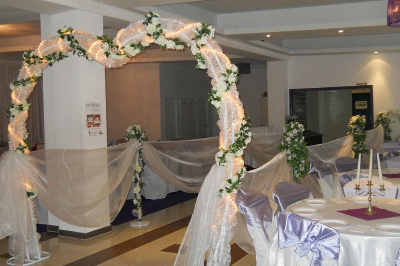 Beispiel: Dekoration für Ihre Hochzeit, Foto: Arkadas Dekorasyon.