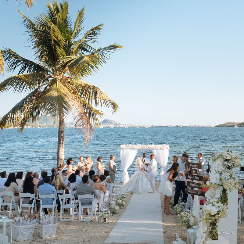 Just Wedding By Priscilla G Sin Maarten - Caraïbes