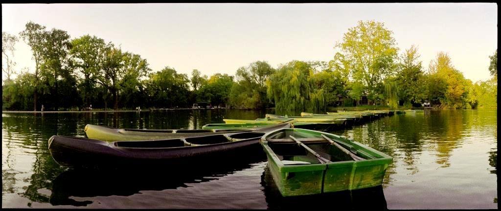Vue des barques