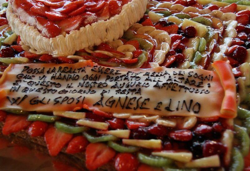 Dettagli della torta Nuziale