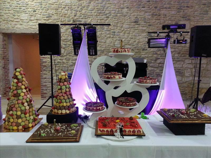 Service traiteur Buffet de desserts