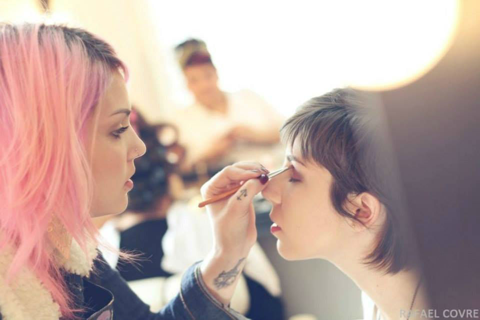 Luciana Bortoline Makeup Artist. Foto: Rafael Covre