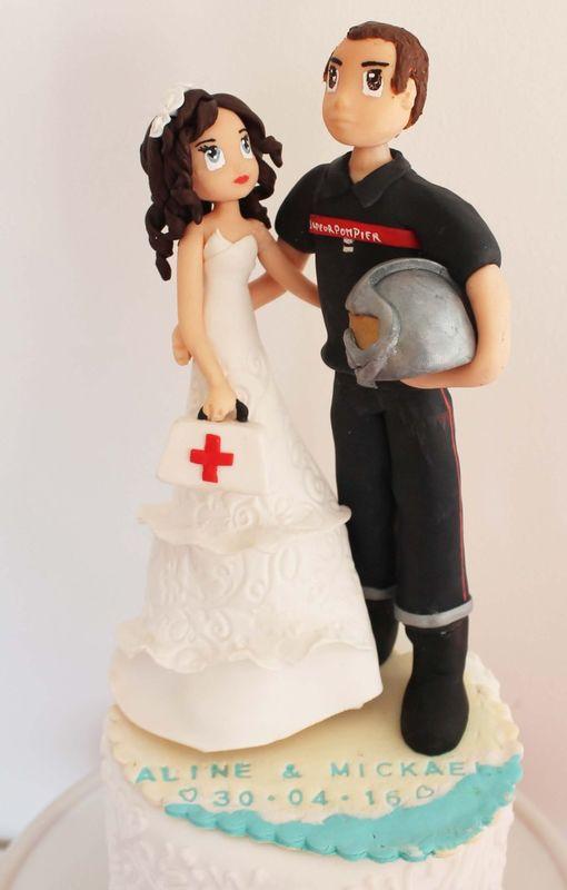 quand un pompier épouse une infirmière
