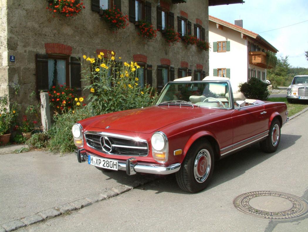 Oldtimer zum Selberfahren: Mercedes Benz 280 SL Pagode (W113) Foto: Classic Roadster München