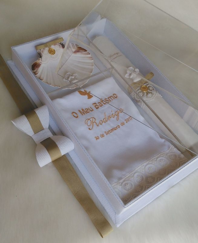 Conjunto de Batismo de Luxo