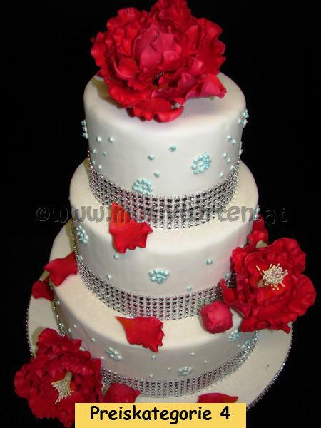 Beispiel: Wunderschöne Hochzeitstorten, Foto: Motivtorten.