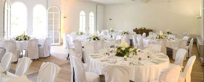 Beispiel: Hochzeitsgedeck, Foto: Gut Sonnenhausen.