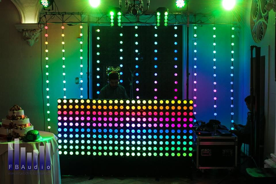 Guirnalda LED RGB - Panel LED DJ RGB. Productos exclusivos