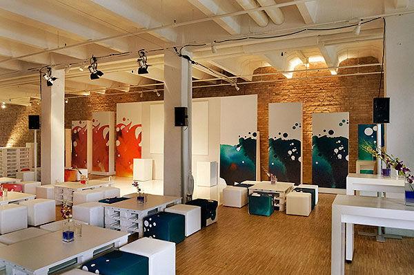 Beispiel: Innenraum - Lounge, Foto: Spreespeicher.