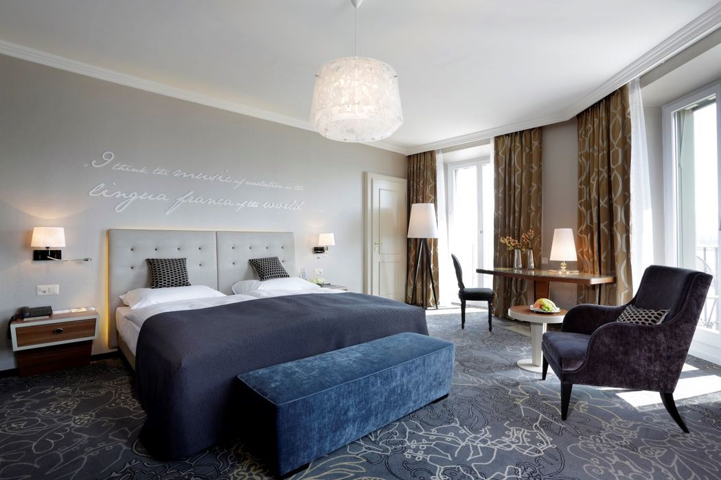 Zimmer Foto: Hotel Schweizerhof Luzern