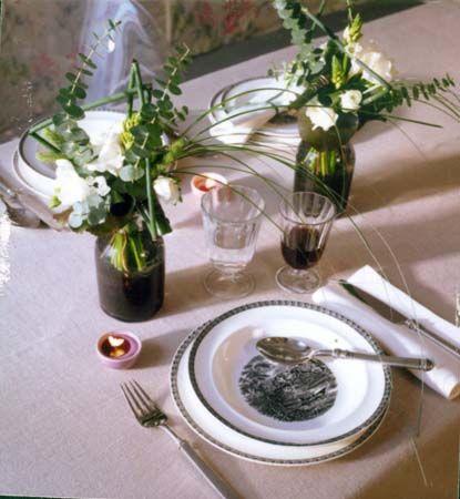 Decoración centro de mesa