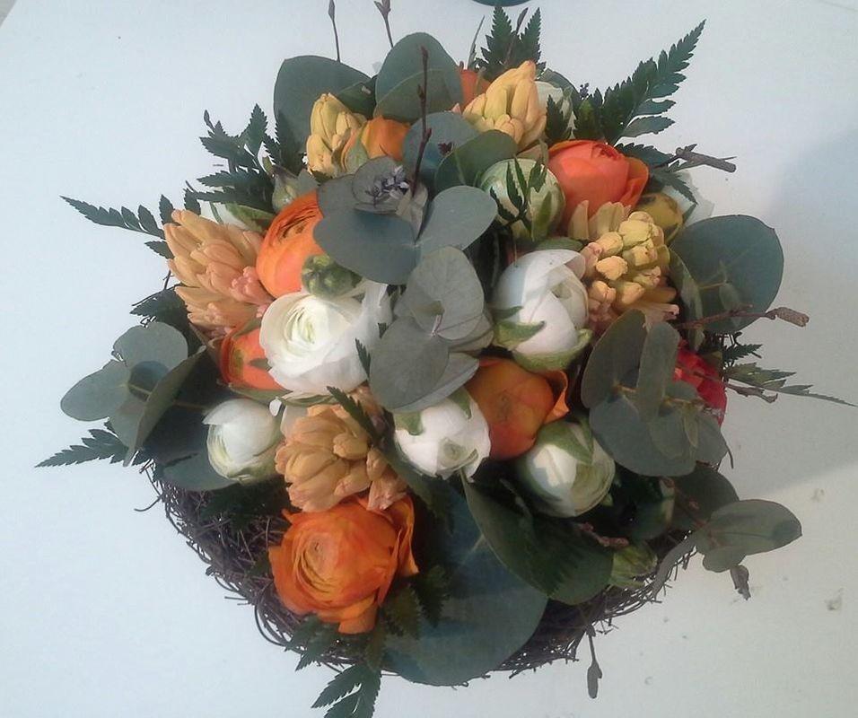 Bouquet ranunculos
