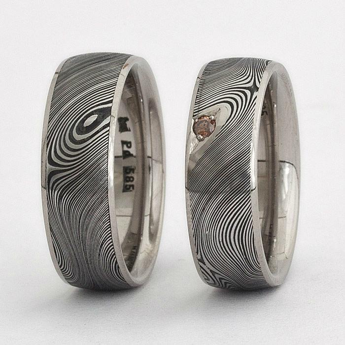 Beispiel: Jeder Ring ist einzigartig, Foto: Joachim Bartz Schmuck.