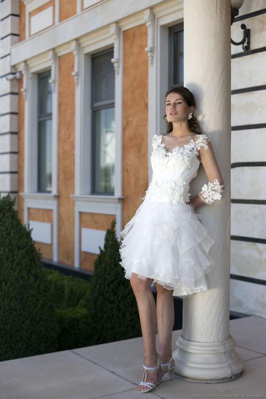Abito da sposa modello Melita, collezione Romantica
