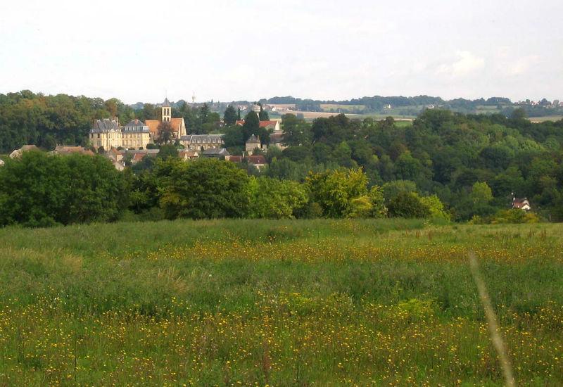 Château de Montgeroult   Vue campagne