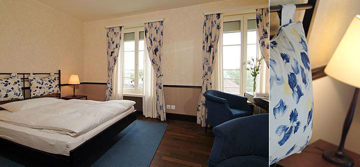 Beispiel: Hotelzimmer, Foto: Hotel Bären Langenthal.