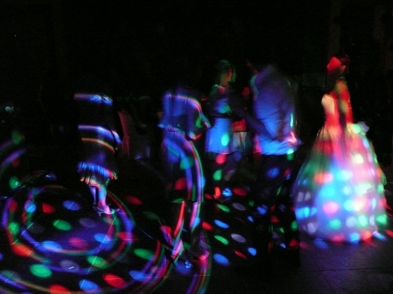 Effets de Lumière piste de danse