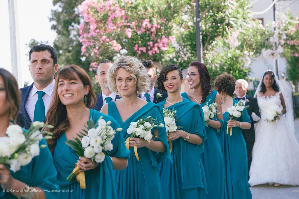 Spectacular wedding in Praiano