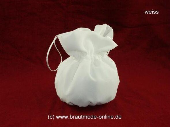 Beispiel: Brautbeutel, Foto: Brautmode Online.