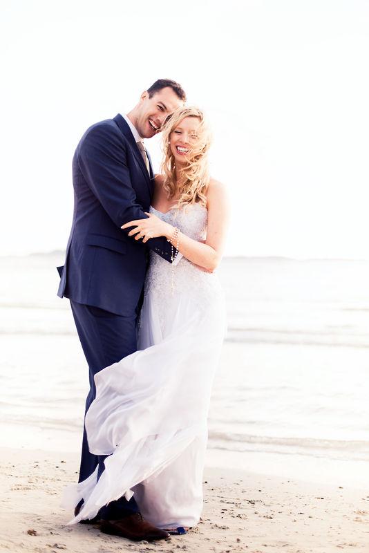 Mariage au bord de mer